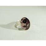 bague ovale dentelle, belladone bijoux