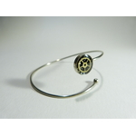 alice, bracelet engrenage et dentelle, belladone