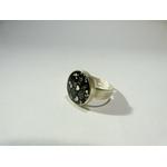 Laure-bague dentelle noire-belladone-bijoux rock