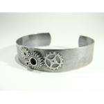 Eros-bracelet manchette engrenage soudé