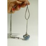 collier boule de verre