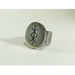 bague plateau rune talisman protection