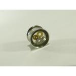 plug acier chirurgical et engrenage 12mm