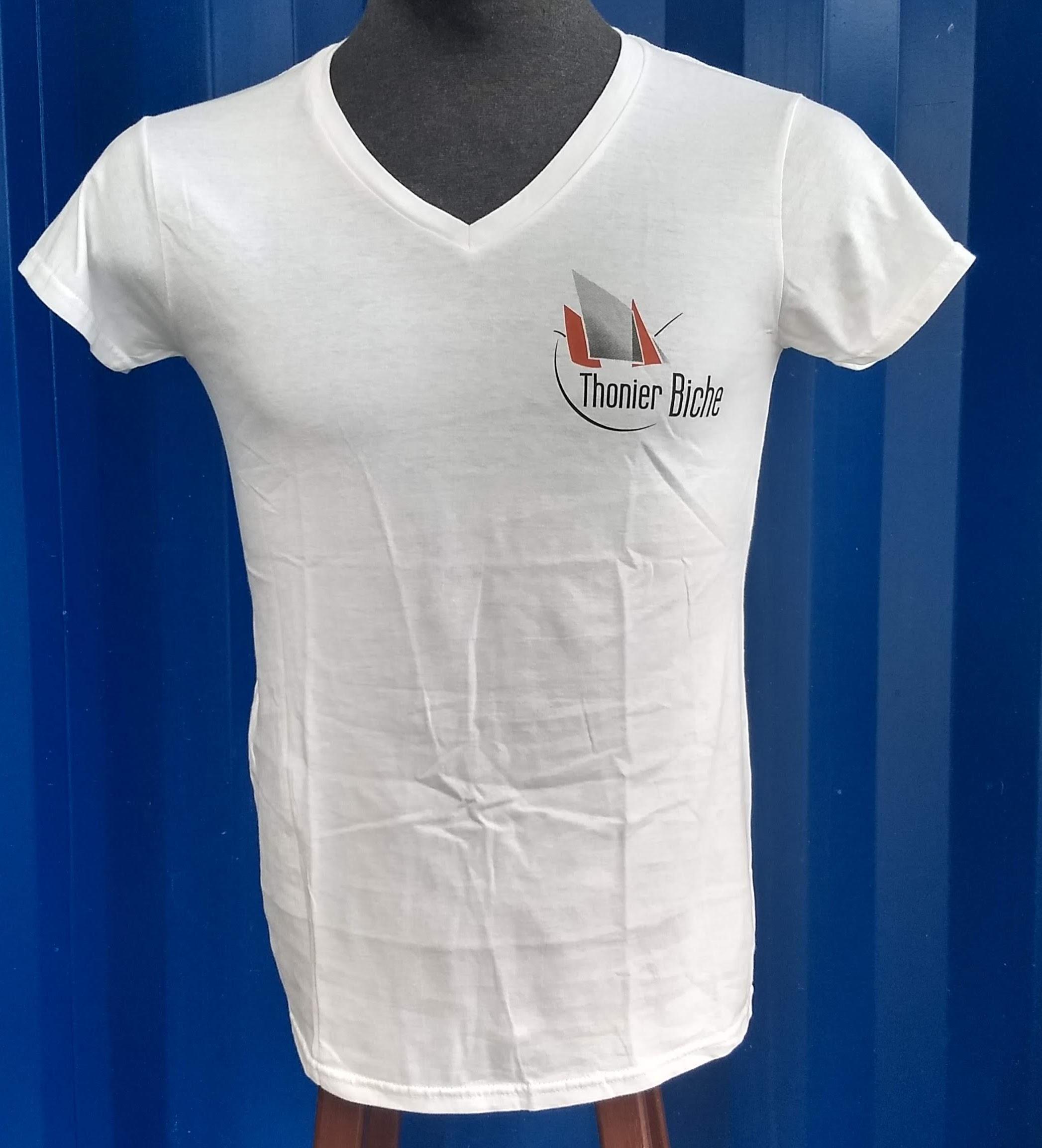 T Shirt Col en V