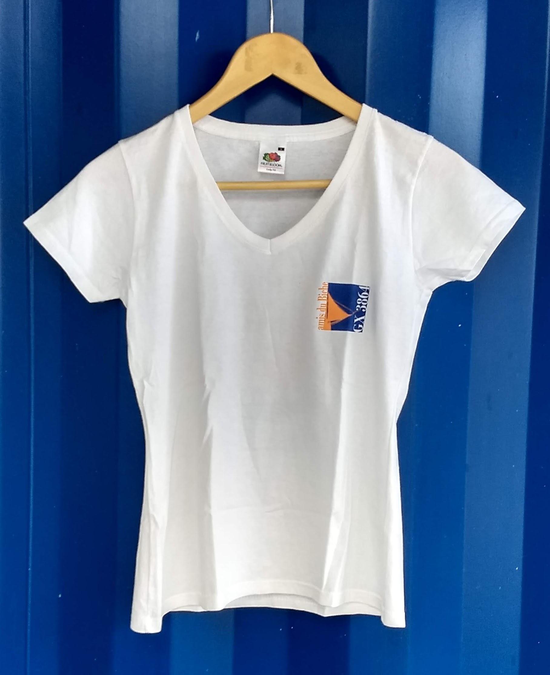 T shirt Col en V ancien logo