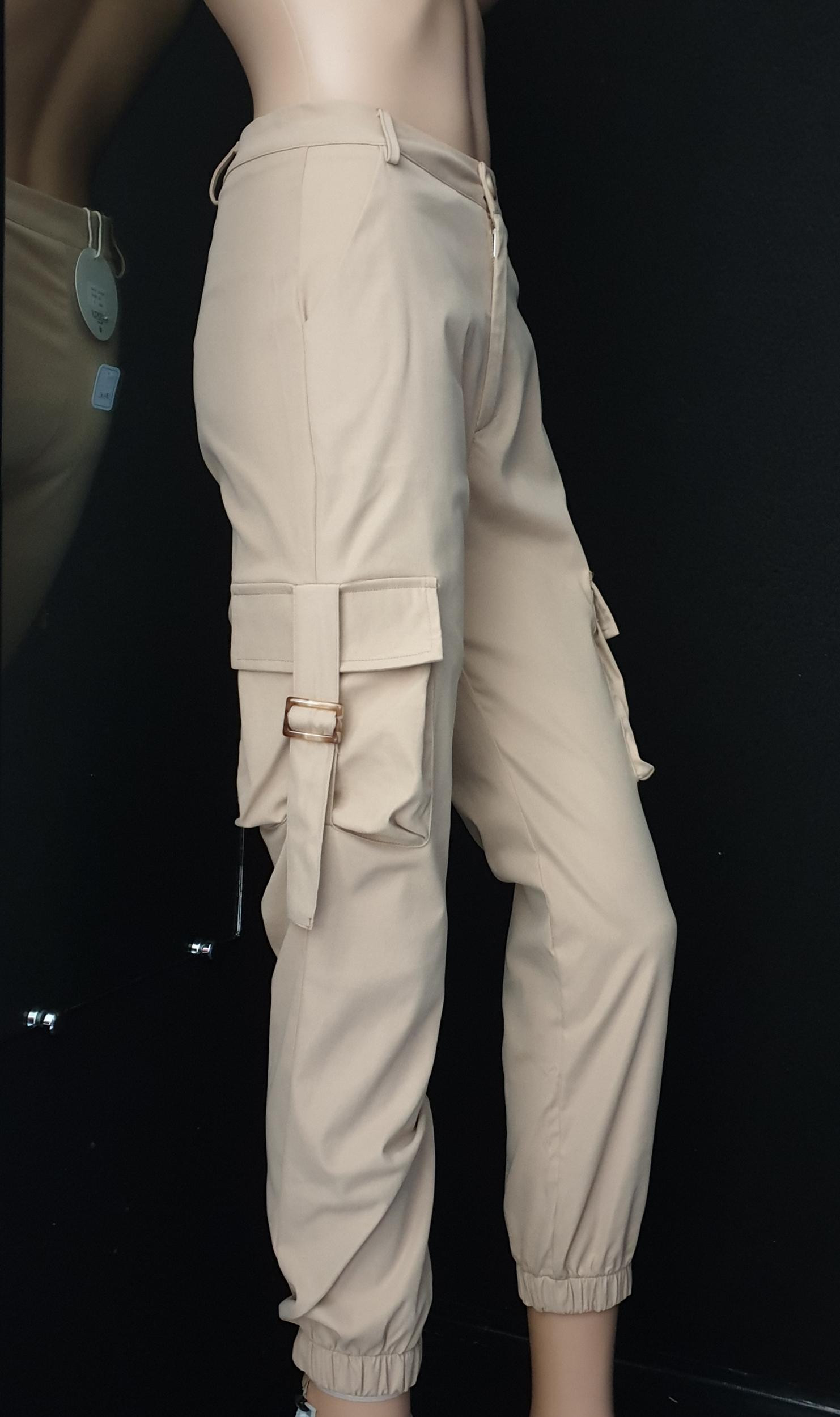 Pantalon beige Elenza