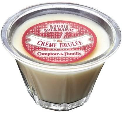 Bougie gourmande Crème brûlée Comptoir de Famille