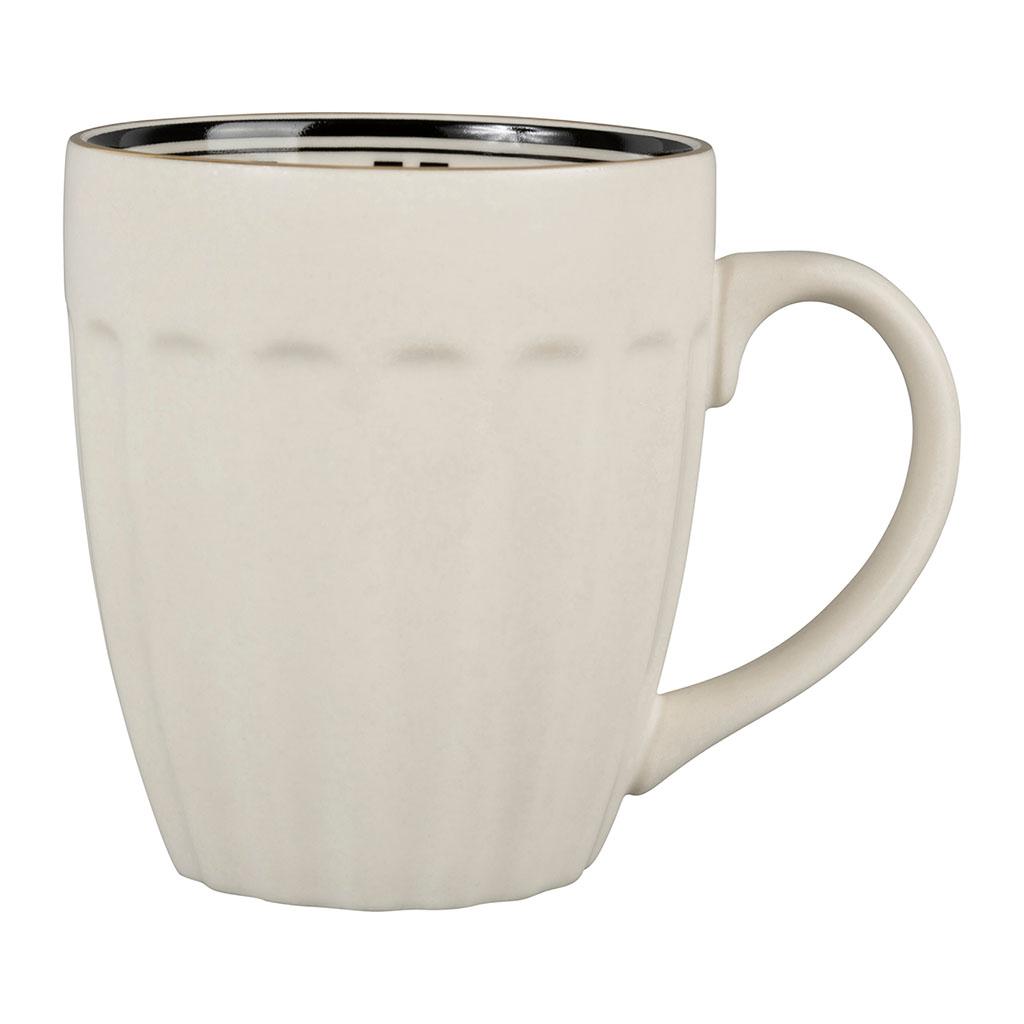 Mug porcelaine 35 cl Bistrot blanc Comptoir de Famille