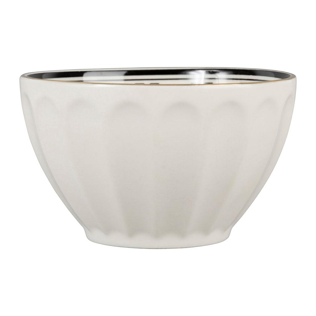 Bol porcelaine 30 cl Bistrot blanc Comptoir de Famille