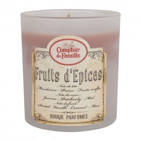 Bougie Fruit d\'épices Comptoir de Famille