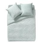 essix-parure-de-lit-qualite-nereide-percale-de-coton-blanc-bleu-glacier-motif-coquillages-vu-avion