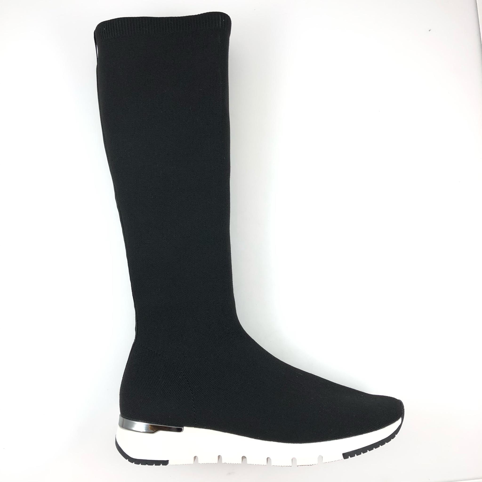 Botte chaussette noire Caprice
