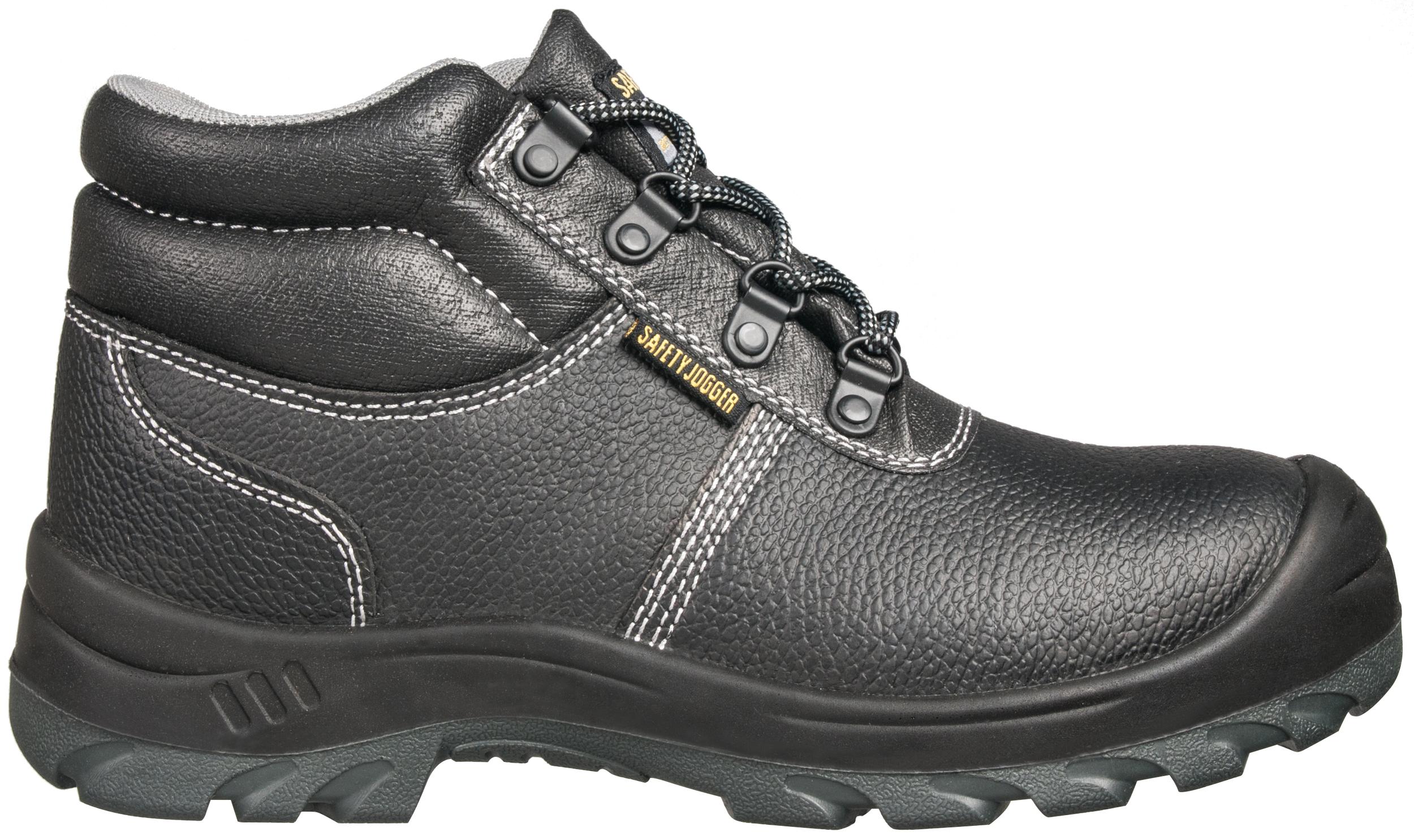 Chaussures de sécurité noires montantes à lacets BESTBOY