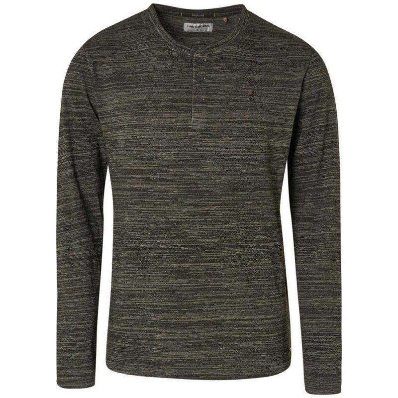 Tee-shirt gris à manches longues No Excess