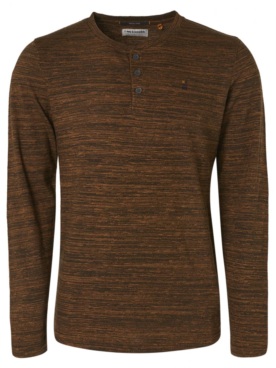 Tee-shirt bronze à manches longues No Excess