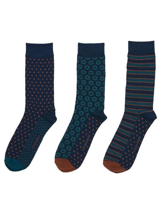 Coffret 3 paires de chaussettes No Excess
