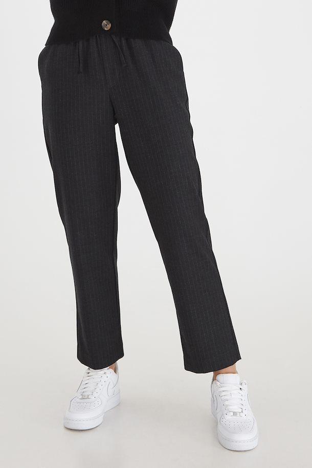 Pantalon fluide à rayures B.Young