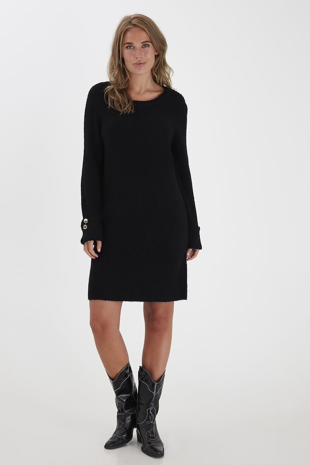 Robe-pull noire B.Young