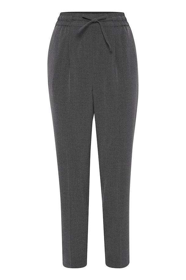 Pantalon décontracté gris B.Young