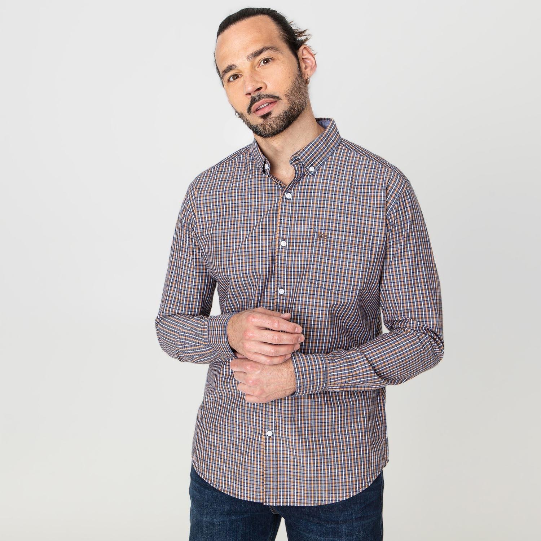 Chemise à carreaux TBS Bavoncha