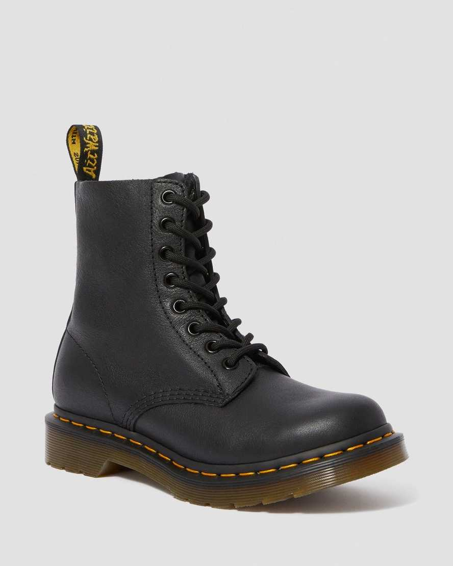 Boots 1460 Pascal en cuir Virginia noir