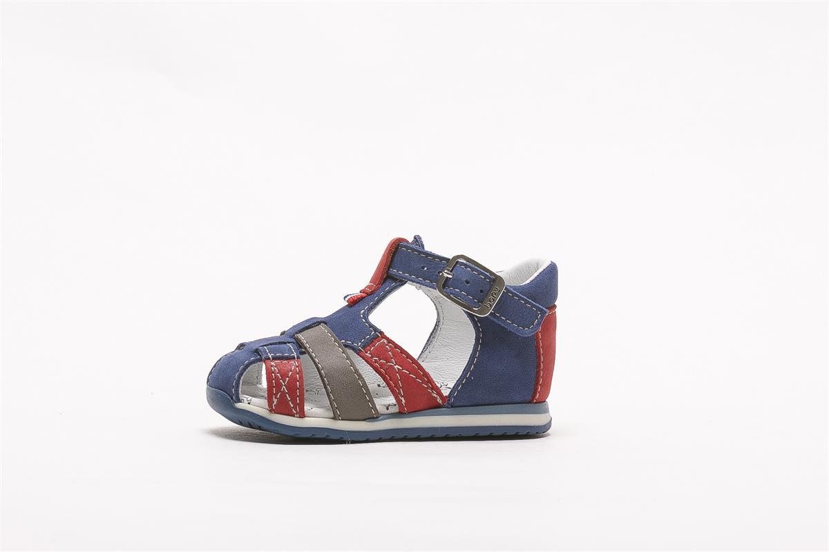 sandale-en-cuir-bout-fermé-enfant-bopy-zolari-bleu