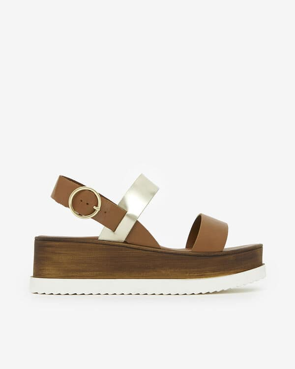 Sandale compensée San Marina Delfira