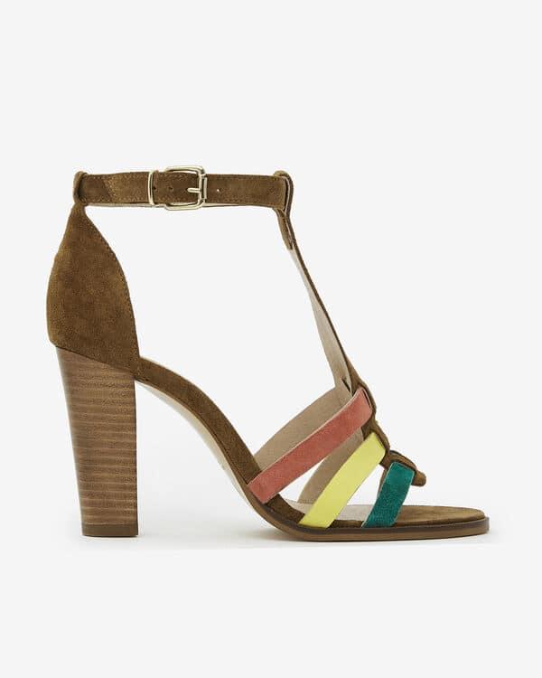 Sandale à talon San Marina Auriana/Vel