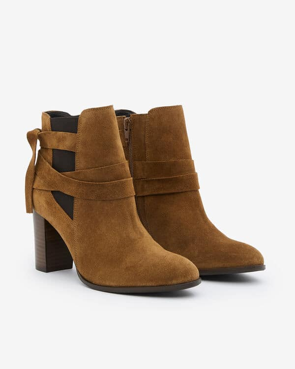 BOOTS AULIP/VEL CANNELLE