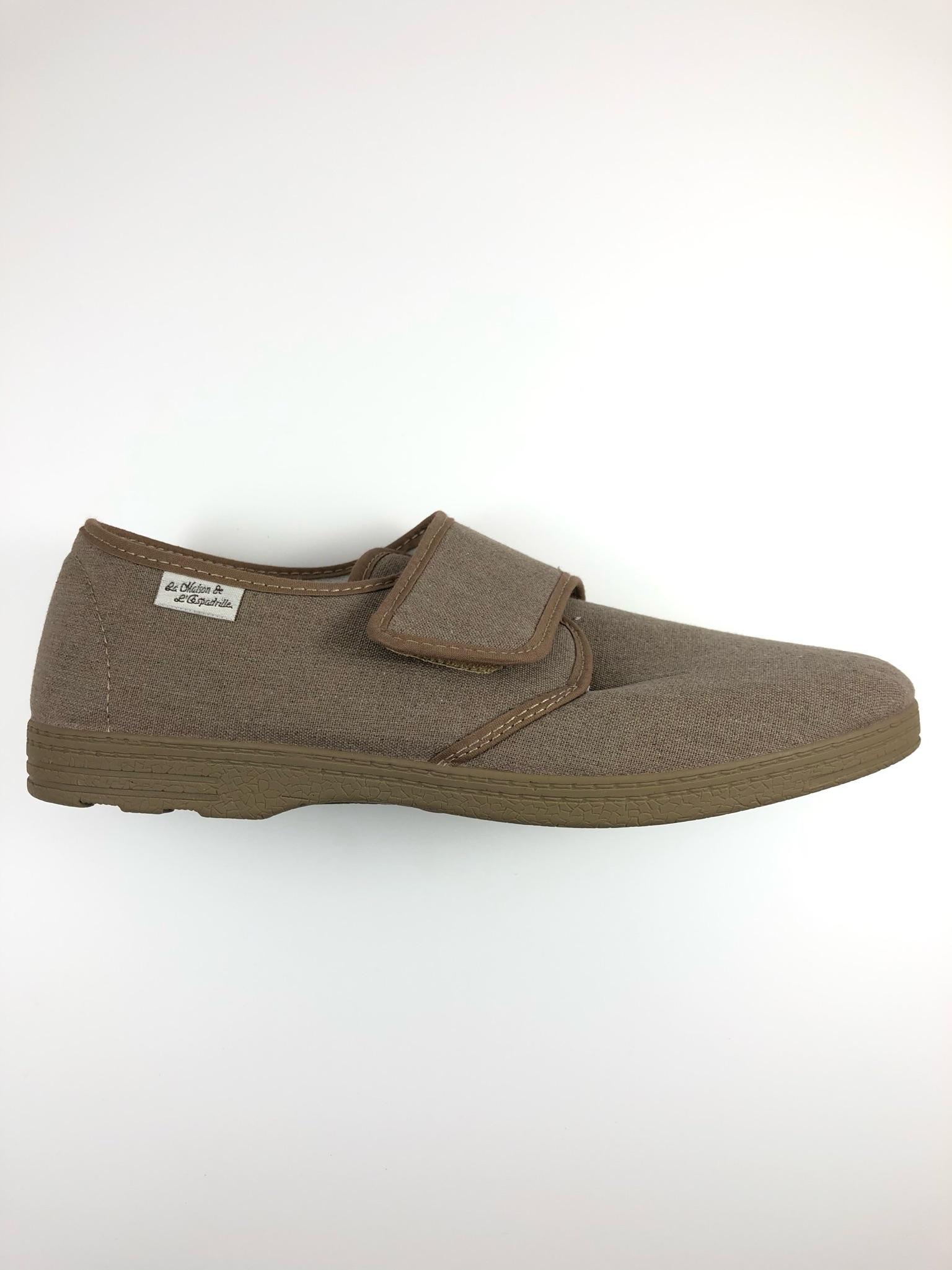 pantoufle-homme-maison-espadrille-velcro-spécial-pieds-sensibles-2614_1