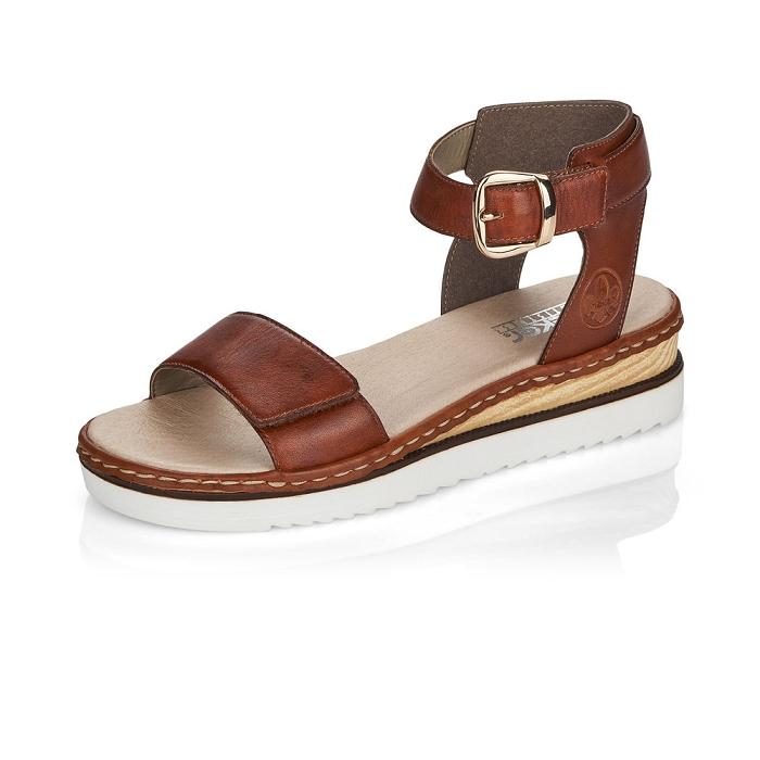 Sandale compensée Rieker 67952-24