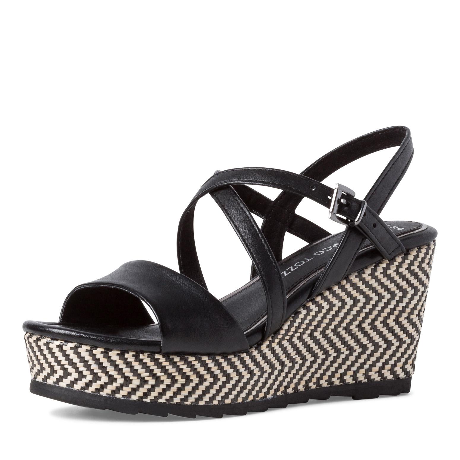Sandale compensée Marco Tozzi 28371 001