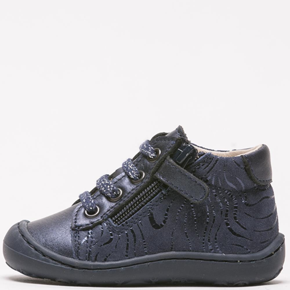 Chaussures bébé fille Bopy Jenifer marine