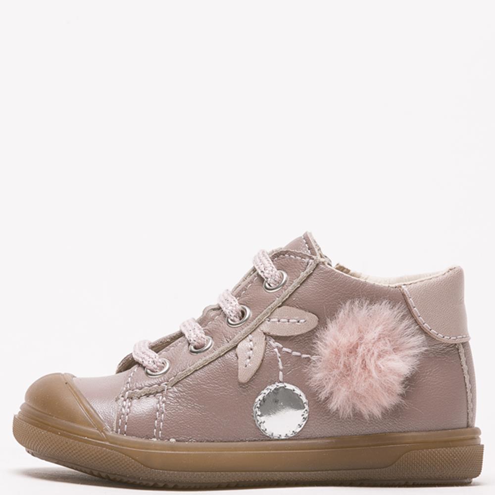 Chaussures bébé fille Bopy Romana rose