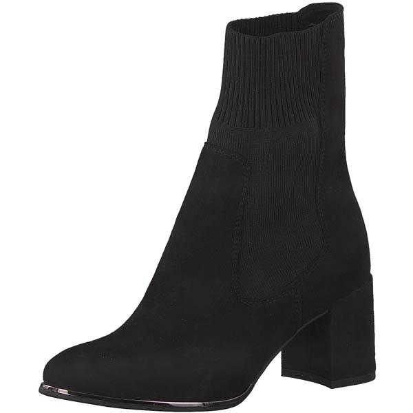 Bottine chaussette noire Marco Tozzi
