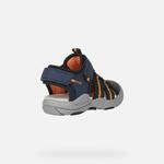 sandale-geox-pour-garçon-bleu-marine-orange-bout-fermé-J15E1A-c0820_e