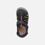 sandale-geox-pour-garçon-bleu-marine-orange-bout-fermé-J15E1A-c0820_f