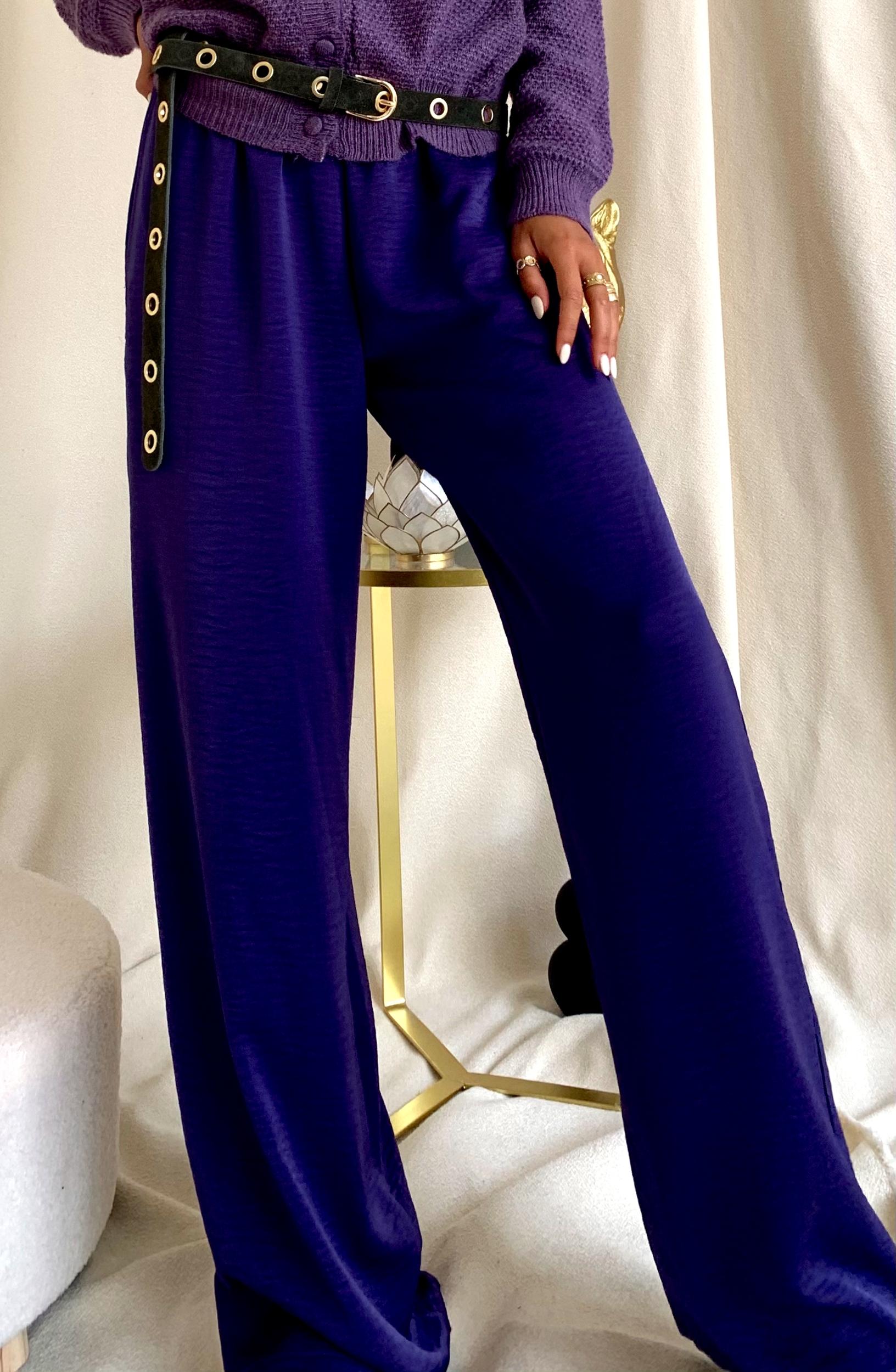 Pantalon Julia - Lilas