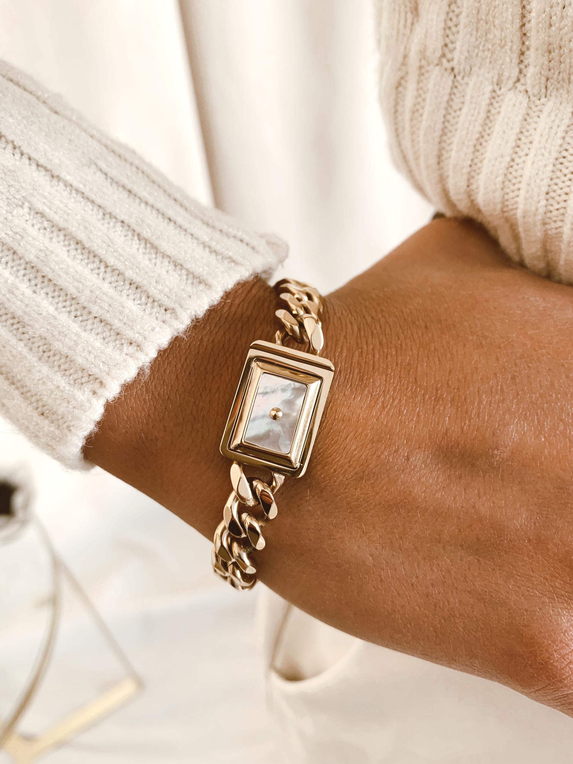 Bracelet Charlie acier doré - Zag Bijoux