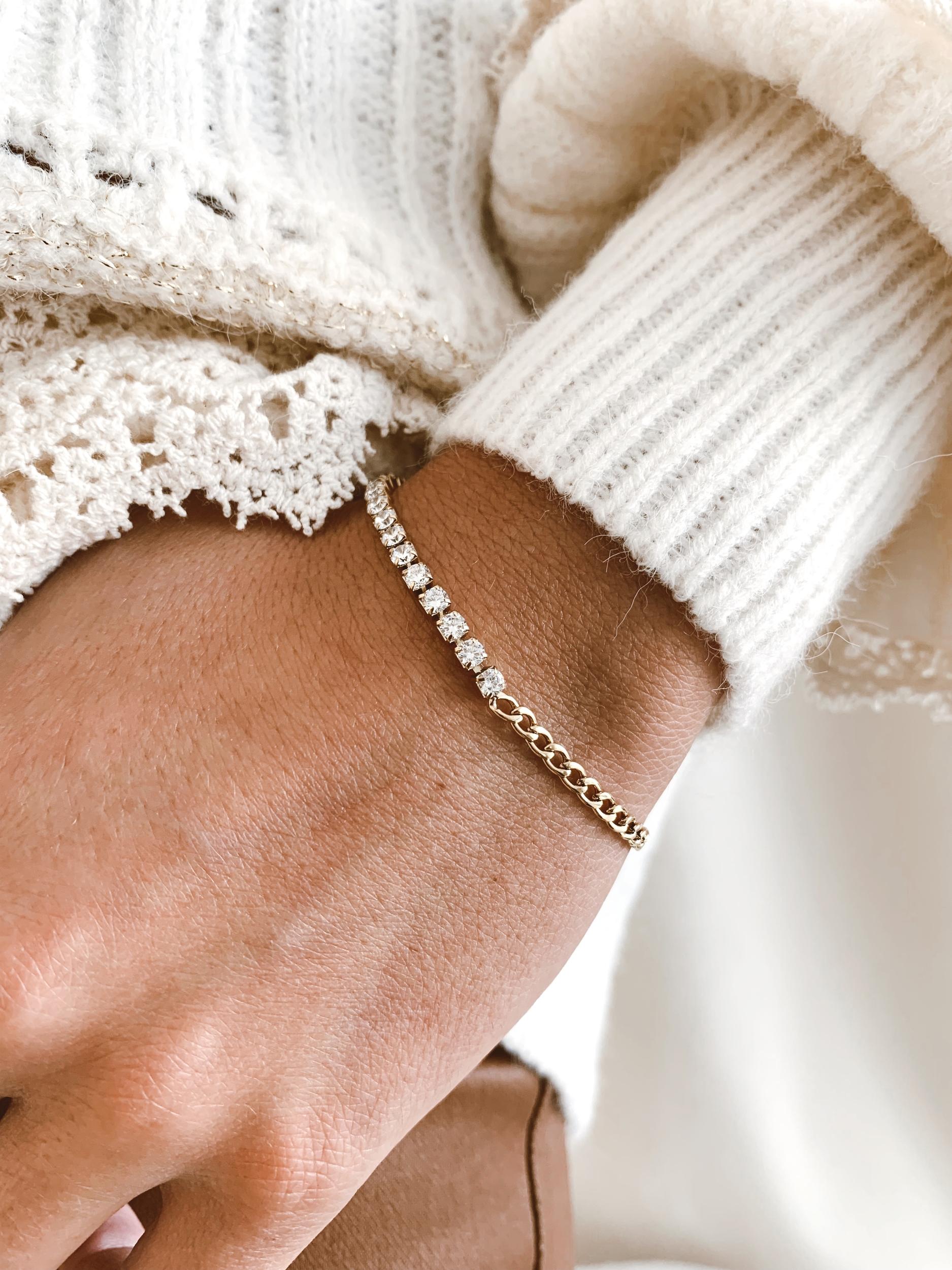 Bracelet Bima acier doré - Zag Bijoux