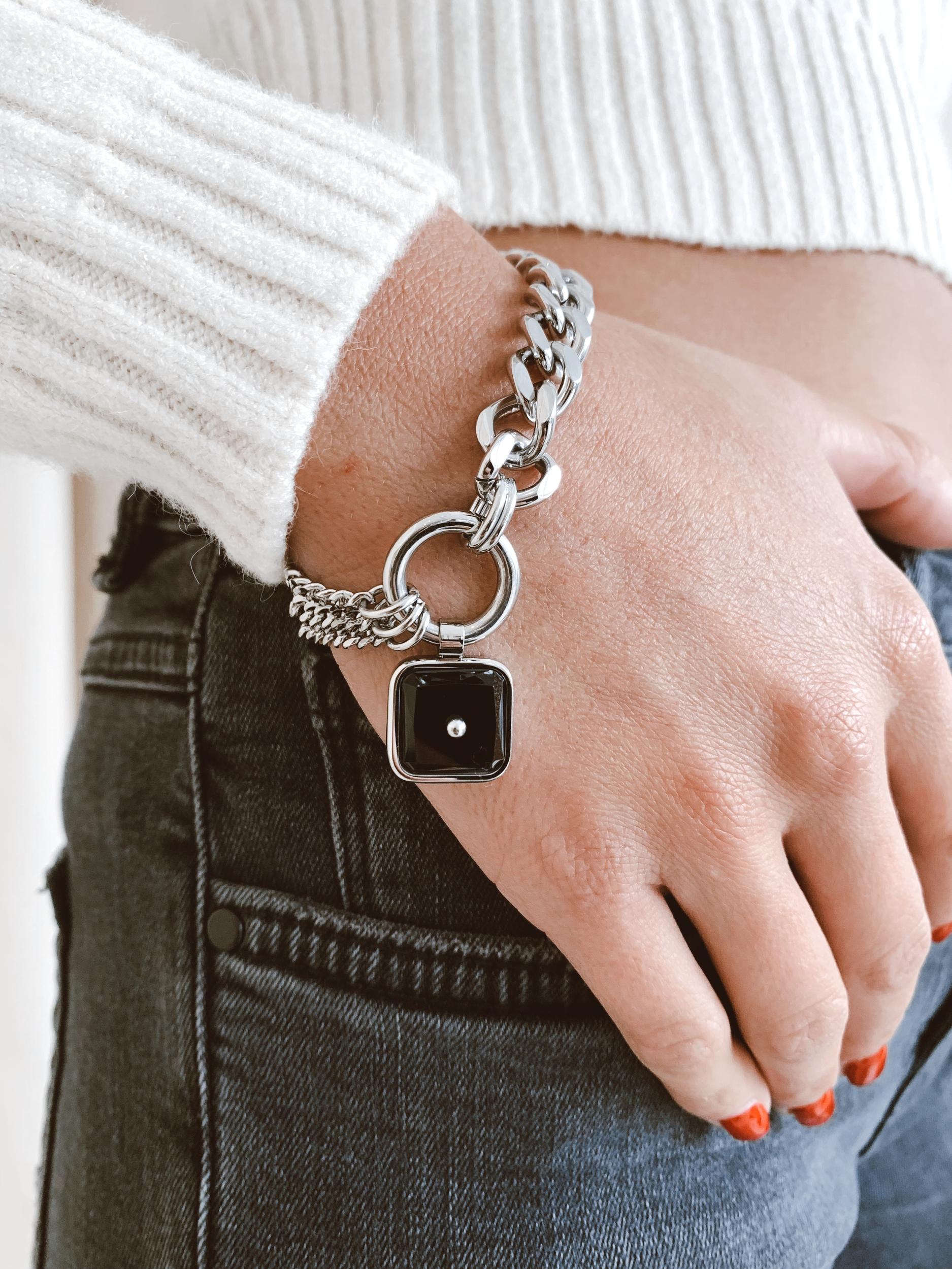 Bracelet Quano acier - Zag Bijoux