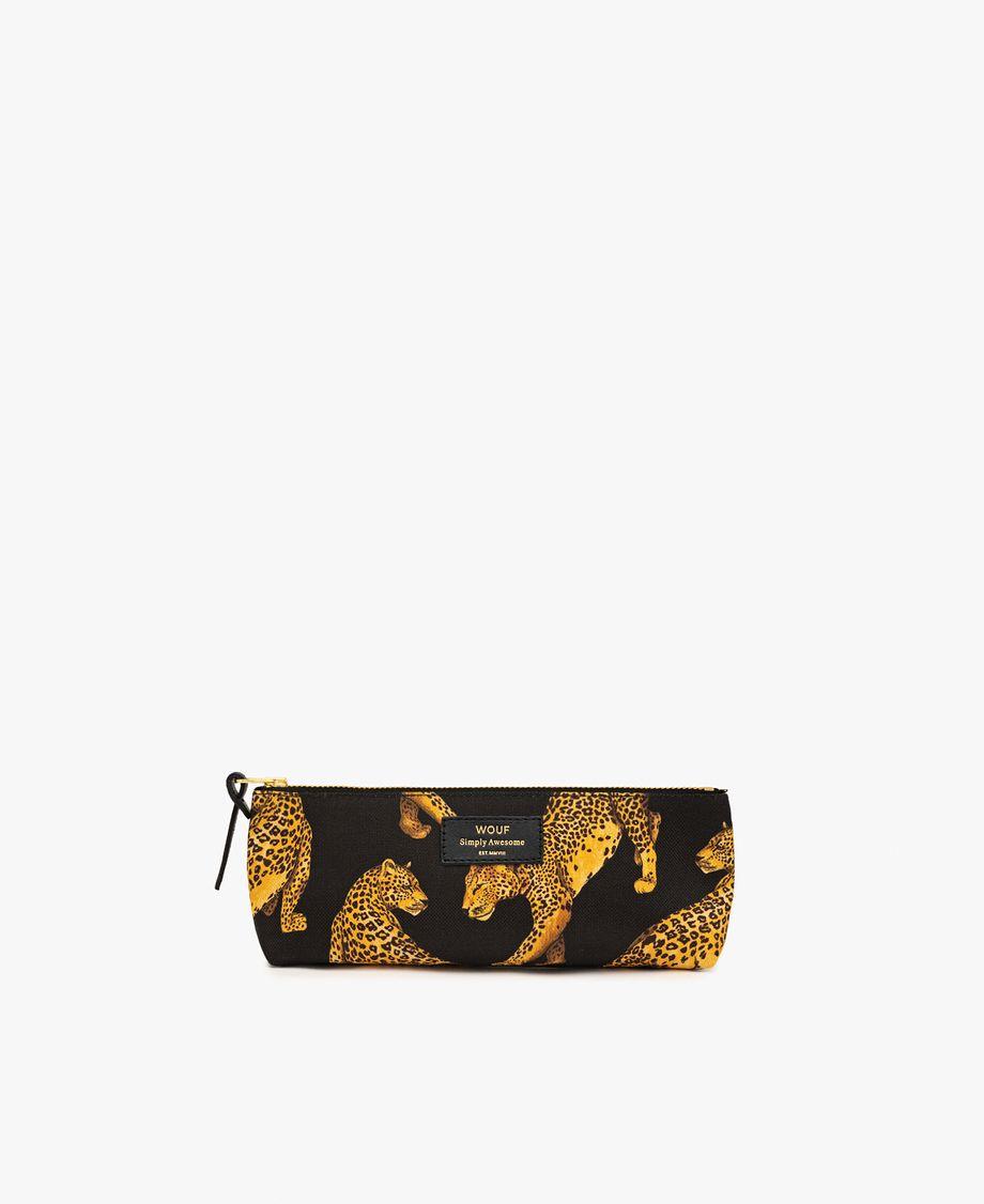 Trousse Leopard noir