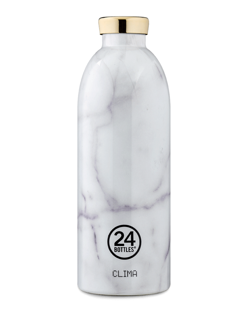 Bouteille isotherme 850ml Marbre Blanc