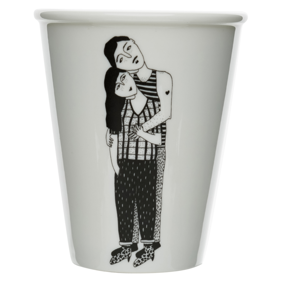 Cup couple câlin