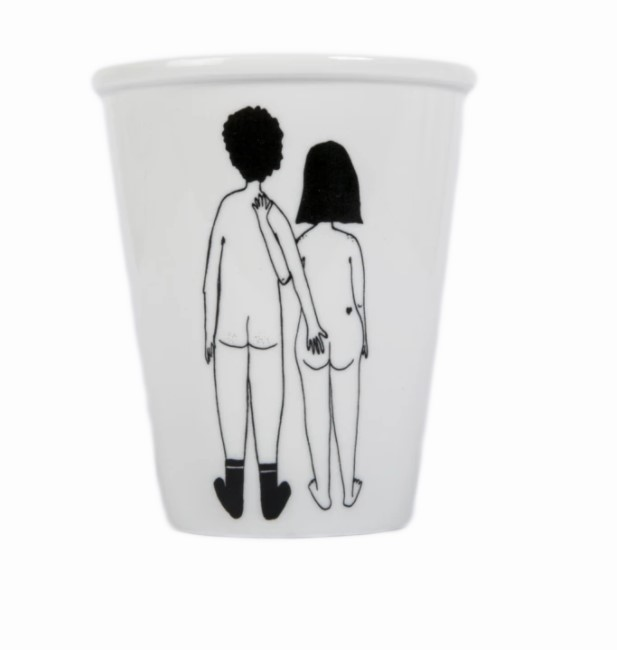 Cup couple nu