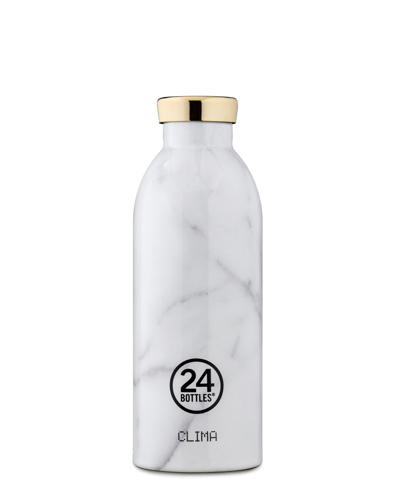 Bouteille isotherme 500ml Marbre Blanc