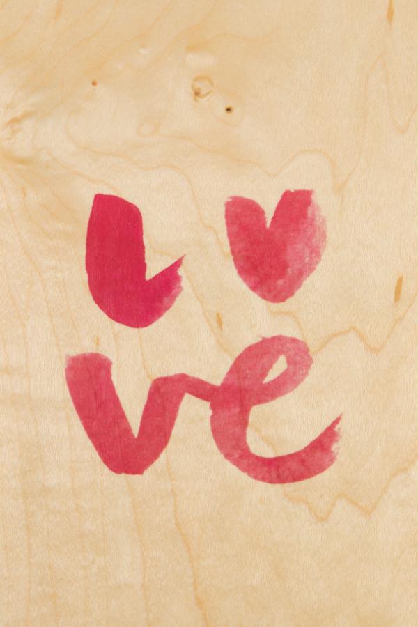 painted words love