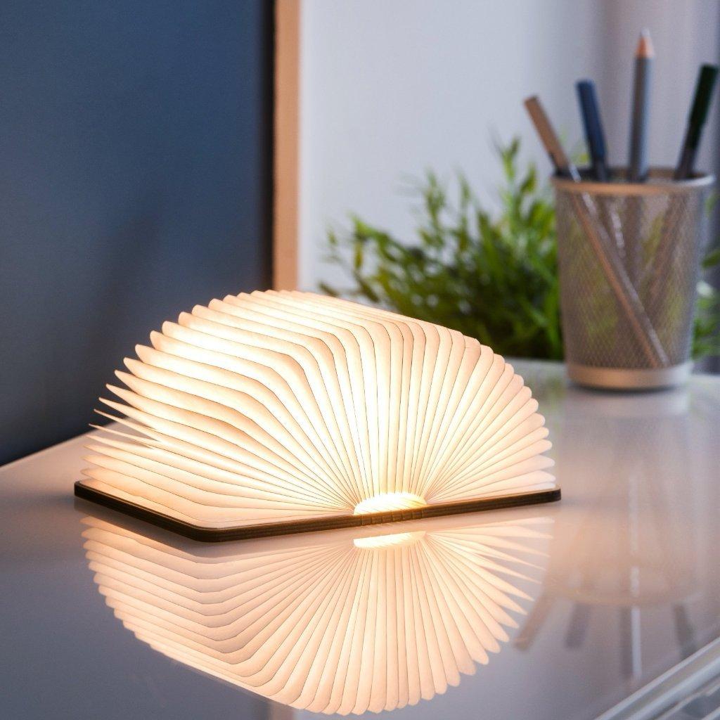 Lampe livre lumineux tissu