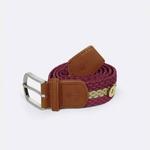 belt-ceinture-en-toile-bordeaux-et-beige