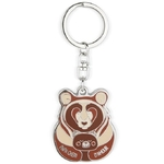 porte-cle papa ours